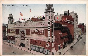 B. F. Kieth's Hippodrome, New York, N.Y., Early Postcard, Used in 1926