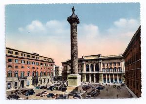 Italy Rome Piazza Colonna Column M Aurelius Tinted Capello