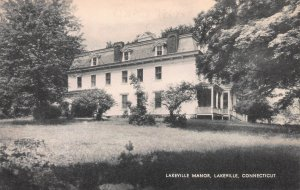 Lakeville Manor, Lakeville, Connecticut, Early Postcard, Unused