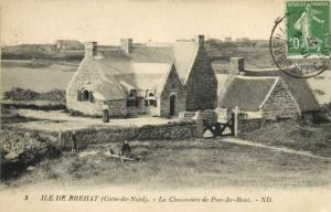 CPA Ile de BRÉHAT - La Chaumiere de Pen-Ar-Bout (104305)