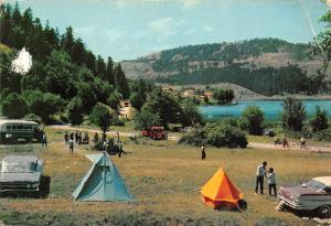 Turkey Bolu Abant Camping Auto Vintage Cars Lake