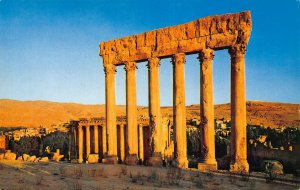 Lebanon The Ancient Roman Ruins of the Temple of Jupiter Baalbek Postcard