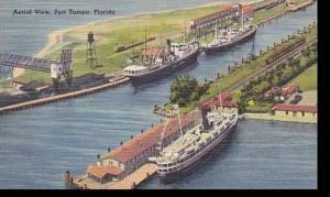 Florida Tampa Aerial View Port Tampa