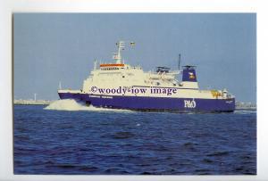 SIM0065 - P&O Ferry - European Endeavour , built 1978 - postcard