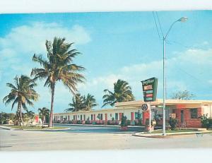 Unused Pre-1980 MOTEL SCENE Homestead - Near Miami Florida FL hk0283