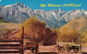 Mount Whitney In Southern California