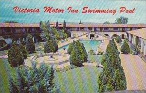 Mexico Chihuahua Victoria Motor Inn Swimming Pool