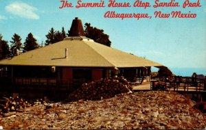 New Mexico Albuquerque Summit House Atop Sandia Peak