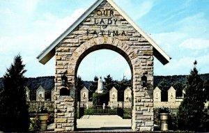 Ohio Fatima Entrance Arch Our Lady Of Fatima Shrine