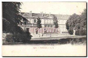 Old Postcard Prefecture Agen
