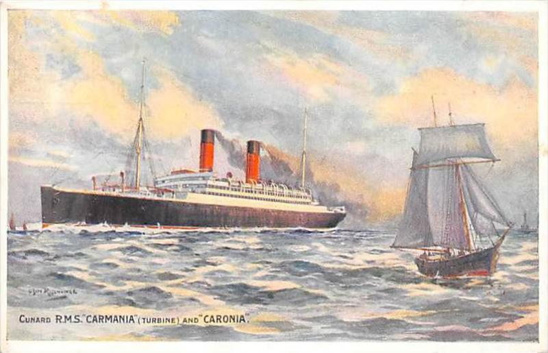 6468   R.M.S. Carmania   Cunard Line