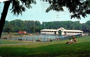 New York Syracuse Thornden Park Public Swimming Pool 1963