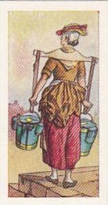 Lamberts Of Norwich Tea Trade Card Before Our Time No 13 Milk Woman