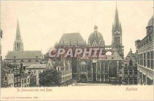 Postcard Old St Foilanskirche und Dom