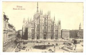 Milano ITALY , 1890s-1905   Piazza del Dumo
