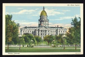 Denver, Colorado/CO Postcard, State Capitol Building