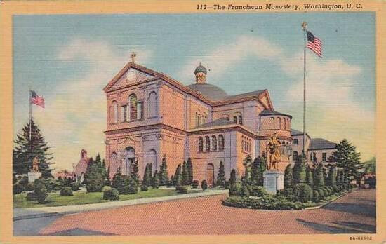 Washington DC The Franciscan Monartery