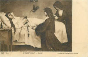 Wentworth - The Faith nuns early art postcard
