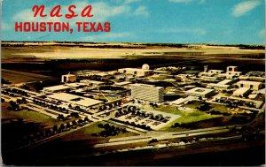 Aerial View NASA Houston TX  TEXAS VINTAGE -  POSTCARD - PC