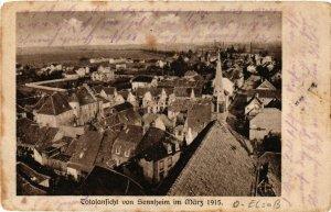 CPA AK SENNHEIM - CERNAY - Totalansicht - Vue générale - 1915 (389426)