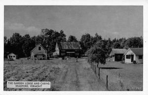 Bradford Vermont Garden Lodge Cabins Antique Postcard K86658