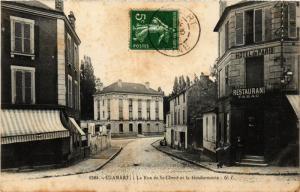 CPA CLAMART La Rue de St Cloud et la Gendarmerie (413923)