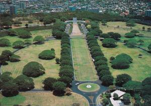 Hawaii Oahu National Memorial Cemetery
