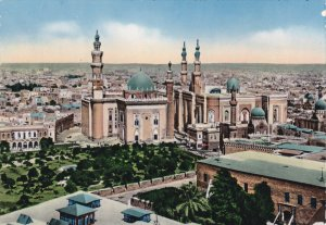 RP, Sultan Hassan And El Riffai Mosque, CAIRO, Egypt, Africa, 1920-1940s