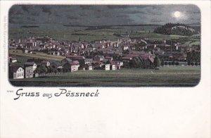 Gruss aus Possneck [Pößneck] , Saale-Orla-Kreis district, Thuringia, German...