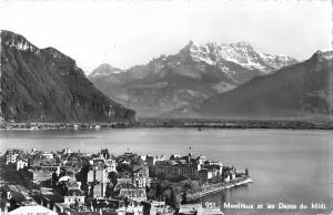 BR47196 Montreux et les dents du midi    Switzerland