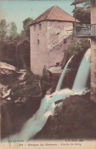 France Aix-les-Bains Gorges du Sierroz