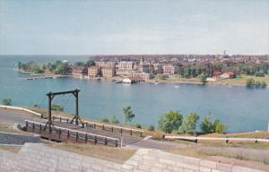 Royal Military College From the Ramparts of Fort Henry, KINGSTON, Ontario, Ca...