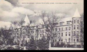 Colorado Colorado Springs Main Building Union Printers Home Artvue