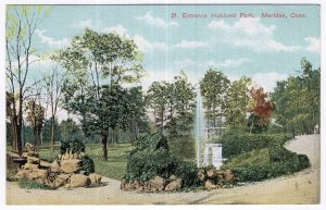 Meriden, Conn, Entrance Hubbard Park