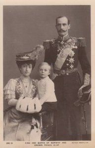 RP: Norway / Norge : 00-10s ; King & Queen and Crown Prince Olaf