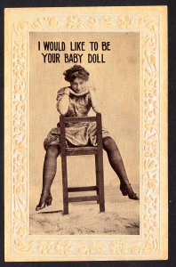 I Would Like to be Your Baby Doll – Barton Spooner Co card