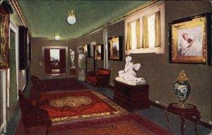 LOUISVILLE KY The Seelbach Reception Hall c1910 Postcard