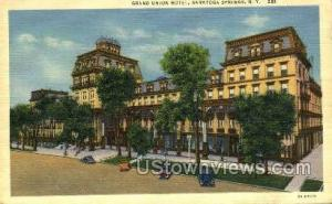Grand Union Hotel Saratoga Springs NY 1941