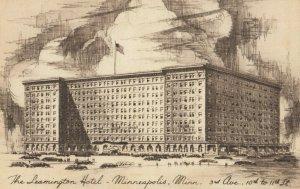 MINNEAPOLIS, Minnesota, 1930s ; Leamington Hotel