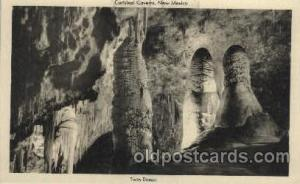 Carlsbad Caverns, National Park, New Mexico, NM USA Cave Caves Post Card Post...