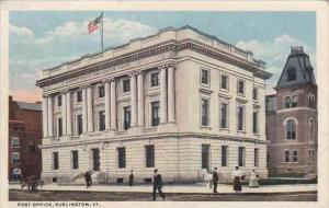 Vermont Burlington Post Office 1915