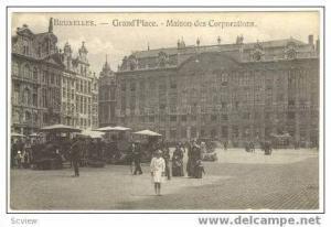 Grand'Place,Maison Des Corporations,Bruxelles,00-10s