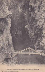 Gorges de la Diosaz, Pont et Escalier du Soutflet, SERVOZ, Rhone, France, 00-...