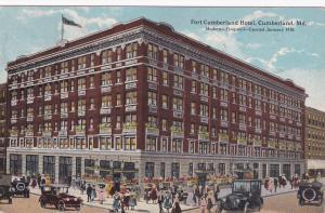 CUMBERLAND , Maryland , PU-1921 ;  Fort Cumberland Hotel