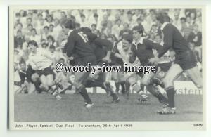 su2529 - Rugby Tackle at the John Player Special Cup Final 26/04/1986 - postcard