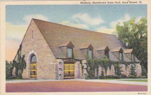 Museum Blackhawk State Park Rock Island Illinois Curteich