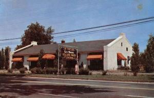 East Lansing Michigan Poplars Street View Vintage Postcard K38224