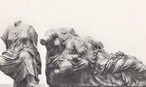 Dione Hestia Aphrodite The Hesperidae East Pediment Parthenon Postcard