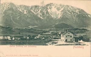 Austria Station Puchberg und Schneeberg 02.09