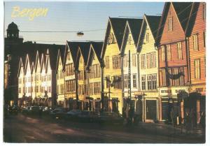 Norway, Bergen, used Postcard